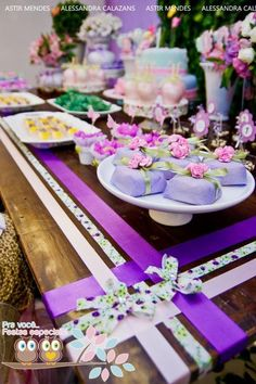 Fairy Garden Themed 1st Birthday Party - Kara's Party Ideas - The Place for All Things Party: