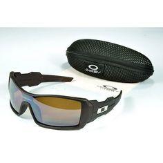 62888b28b7a  13.99 Fake Oakley Oil Rig Sunglasses Brown Lens Deep Brown Frames Online  Deals www.racal