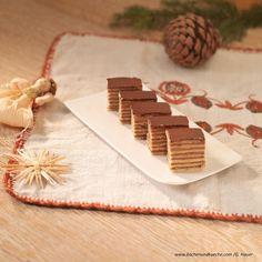 Feine Dobosschnitten Place Card Holders, Ginger Beard, Chocolate, Easy Meals, Chef Recipes