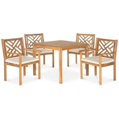 Glendyn Outdoor 5-Pc. Dining Set (1 Dining Table & 4 Chairs), Quick... ($539) ❤ liked on Polyvore featuring home, outdoors, patio furniture, outdoor patio sets, five piece dining set, 5 pc dining table set, 5 piece dining table set, outdoor dining sets and outside patio furniture