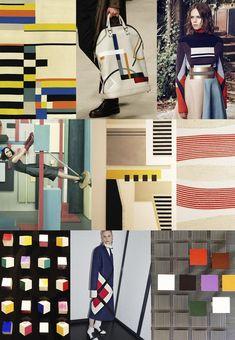 F/W 2017-18 women's pattern & colors trends: Bauhaus adaptiv