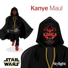 "With the release of ""Star Wars: The Force Awakens"" Stylight transformed the likes of Karl Lagerfeld, Anna Wintour and Kanye West into Star Wars characters."