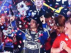 Jimmie Johnson Texas #Lowes6Pack