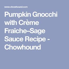 ... Italian on Pinterest | Pumpkin gnocchi, Profiteroles and Italian style