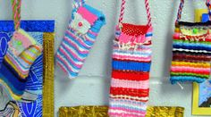how to teach pouch weaving, super easy and crazy fun!