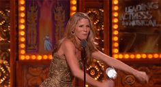 Relive the most outrageous moments from the 2015 Tony Awards with these GIFs. Musical Theatre Broadway, Music Theater, Kelli O'hara, Stage Crew, Laura Osnes, Jack Kelly, Theatre Nerds, My Favorite Music, Beautiful People