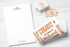 Noted:                                                                                            New Logo and Identity for Pets Corner by Junction Design