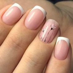 60 Stylish Nail Designs for Nail art is another huge fashion trend besides the stylish hairstyle, clothes and elegant makeup for women. Nowadays, there are many ways to have beautiful nails with bright colors, different patterns and styles. Classy Nails, Stylish Nails, Simple Nails, Cute Nails, Pretty Nails, My Nails, Pink Nails, Classy Nail Designs, Nail Art Designs