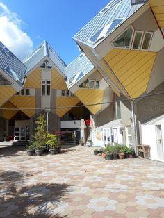 Cube houses, Rotterdam, Piet Blom.