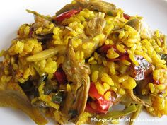 Cocina – Recetas y Consejos Deli Food, Spanish Dishes, Rice Dishes, Fried Rice, Baked Potato, Risotto, Noodles, Grains, Food And Drink