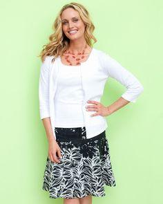 Chalk Art Skirt