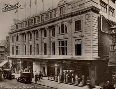 """Fenwick Ltd Northumberland Street Newcastle upon Tyne -Eizabeth Sharpe worked here before her marriage to Wiliam Anderson, which was in Jarrow in She was a """"Mantle Maker"""" who fit and sewed dresses and coats in the Ladies Department. Blaydon Races, Newcastle Gateshead, Durham City, Local Studies, Great North, Somewhere In Time, North East England, Local History, British History"""
