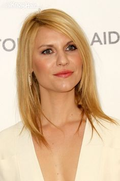 Claire+Danes+haircuts | Claire Danes Hairstyles | Claire Danes Straight Side Swept Hairstyle