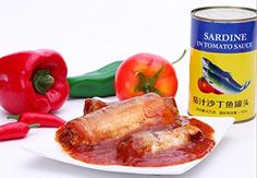 Canned sardines in tomato sauce 12 cans total net weight 5100 grams (425gX12 tins), seafood from South China Sea Nanhai by JOHNLEEMUSHROOM, http://www.amazon.com/dp/B01LAAJF0O/ref=cm_sw_r_pi_dp_x_gKspzbPN26PN3