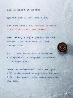 An old ESPN hockey ad.