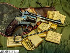 Nagant M1895 revolver Find our speedloader now!  http://www.amazon.com/shops/raeind