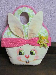 Sewing Dolls, Foam Crafts, Cute Bags, Craft Tutorials, Easter Crafts, Easter Bunny, Handicraft, Crochet, Needlework