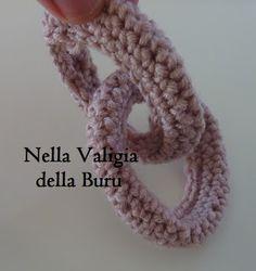 Nella valigia della Buru: Tutorial: come realizzare catene all'uncinetto - crochet free tutorial  <3