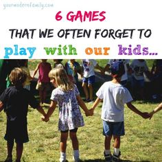 games to play with young kids