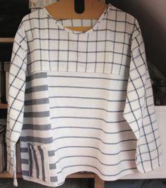 La chemise en torchons de cuisine  #ELLY #ikea