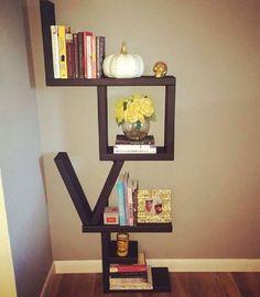LOVE bookshelf