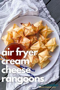 Cream Cheese Rangoons   DwardCooks   Family-friendly recipes