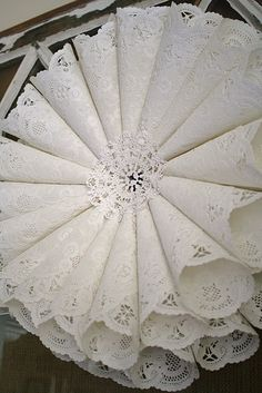 doilies decoration I need this please:)