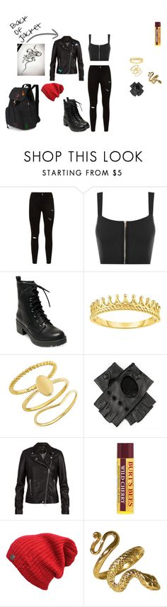 """""""Athena, Disney Descendants, Outfit #1"""" by bookprincess-313 on Polyvore featuring WearAll, Madden Girl, BaubleBar, Black, SET and Burt's Bees"""