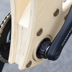 THE SAWYER DIY WOODEN BIKE