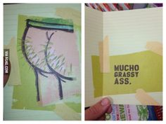 As a Hispanic, I was tempted to get this thank you card for an American friend who hosted me.