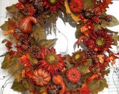 COSECHA otoño XXL rústico casa rural por DecorClassicFlorals