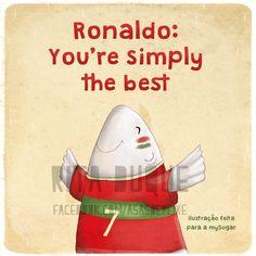 Asas de peixe: Cristiano Ronaldo