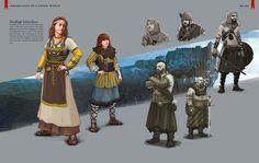 The Witcher 3: Wild Hunt artbook  Chapter VI  Inhabitants of a Living World