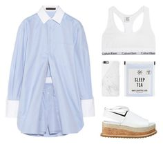 """""""Show me love"""" by carocuixiao ❤ liked on Polyvore featuring Alexander Wang, Whistles, Native Union and Calvin Klein Underwear"""