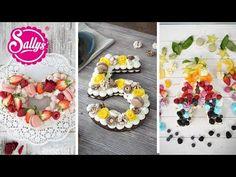 Sallys Rezepte - Zahl Tarte / Fruchttorte / Kekstorte / Kuchentrend 2018