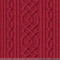 Web Server's Default Page - Diy Crafts Aran Knitting Patterns, Knitting Stiches, Cable Knitting, Knitting Charts, Knit Patterns, Stitch Patterns, Creative Knitting, Yarn Inspiration, Cross Stitch Borders