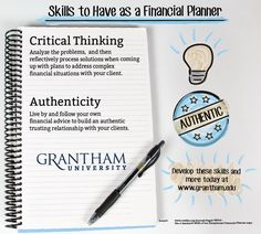 Want to become a financial planner? Grantham University can teach you these skills to prepare you for success!