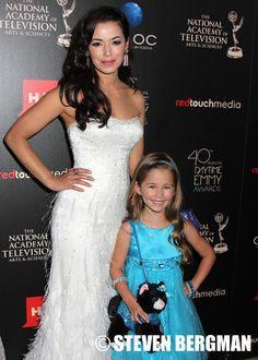 GH's Sabrina and Emma at 40th Annual Daytime Emmy Red Carpet (PHOTOS) | Daytime Confidential #GH #GH50