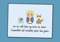 The Little Prince parody  Cross stitch PDF by cloudsfactory