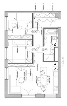plan amenagement appartement 60 m2