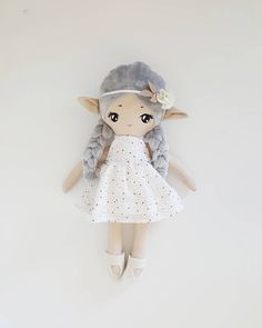 Silver elf from the elves collection She was listed on my etsy shop, and now is already sold If you want doll from this collection…