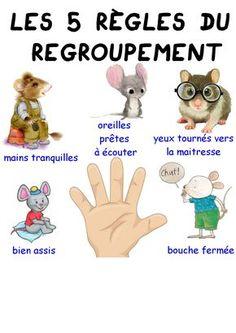 The 5 rules of grouping - Maitresse Myriam Summer Preschool Activities, Preschool Education, Free Preschool, Preschool Lessons, Lessons For Kids, Teaching Kids, Kids Learning, Preschool Winter, Preschool Literacy