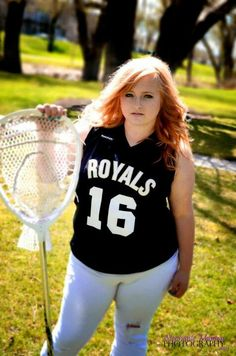 High school senior lacrosse picture! #Goalie #LaX #16