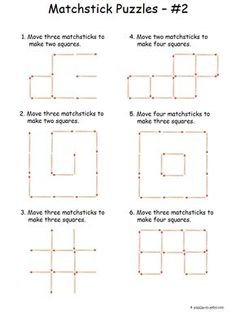 A friend shared this puzzle on facebook and i thought it would make intermediate matchstick puzzles ccuart Choice Image