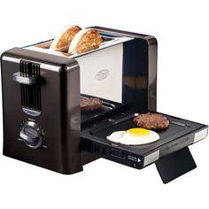 Flip-Down Breakfast Toaster by Nostalgia Electrics
