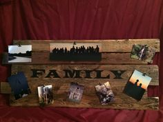 Picture memory Board Photo memory board Memory by CraftedSimplyInc