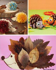 manualidades-de-otoño-infantiles-erizos