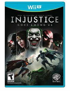 Amazon.com: Injustice: Gods Among Us - Nintendo Wii U: Video Games