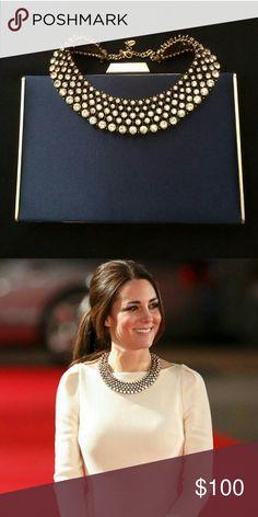 Zara Necklace Authentic Rare Zara necklace. Same as the one worn by Duchess Kate Middleton. Zara Jewelry Necklaces