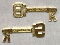 Mayor Robert C. Caldwell's keys to the city of Salina, Kansas. Salina Kansas, Keys, History, City, Collection, Historia, Key, Cities